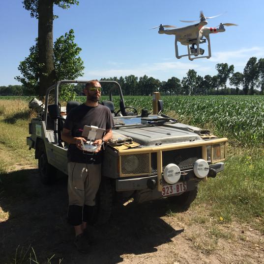2018Jul01 Drone flying