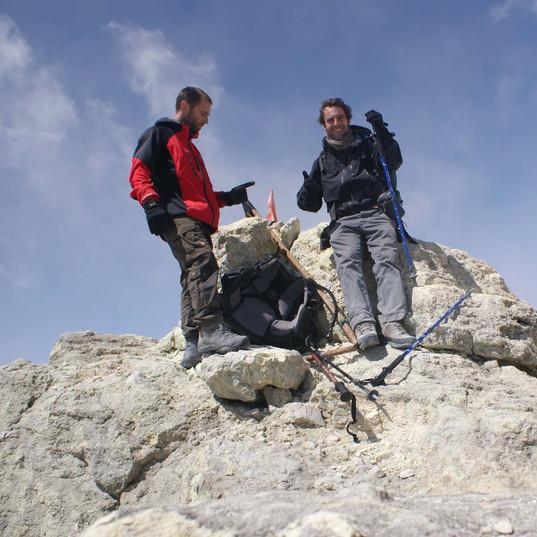 2011Jul11 Summit of Mnt Damavand, Iran, 5610m