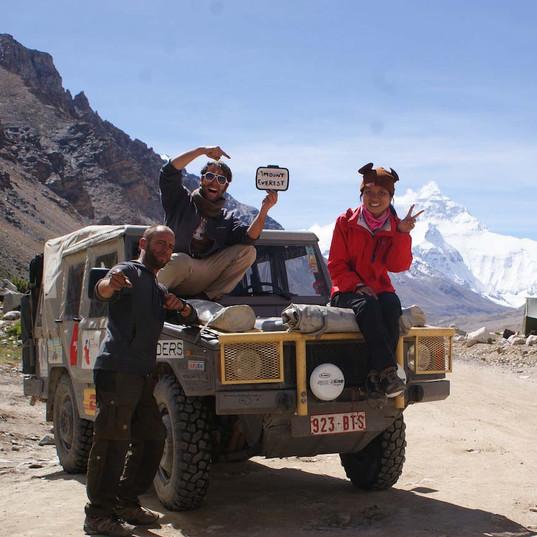 2011sep09 Base camp Everset, Tibet