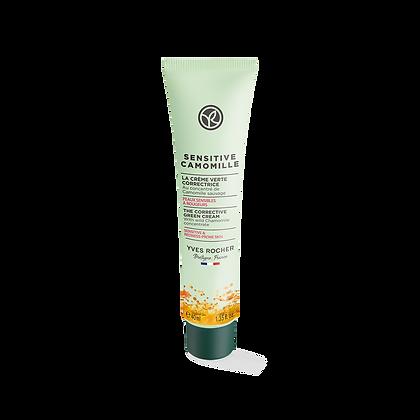 Crème verte correctrice peaux sensibles Sensitive Camomille - 40ml