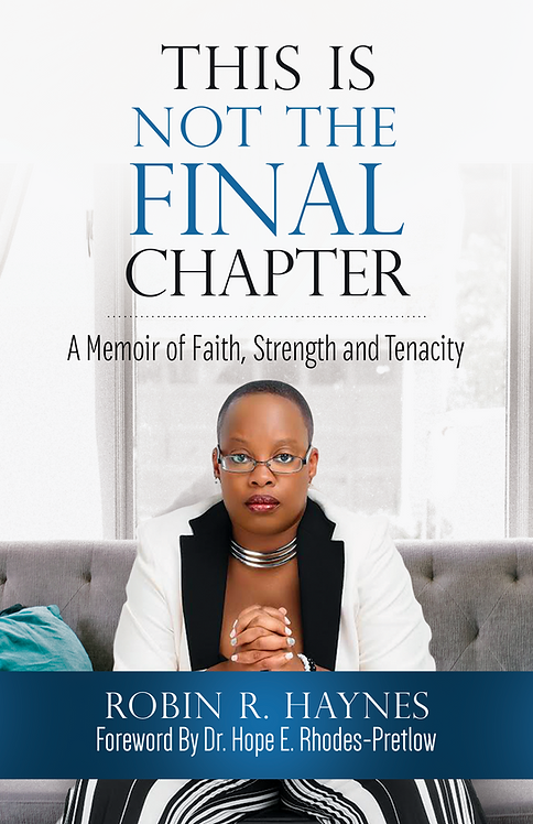 """This Is Not The Final Chapter"" Book"