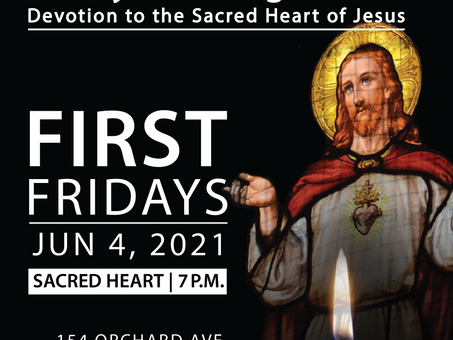 First Friday - Candlelight Family Mass