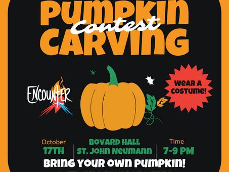 Encounter Pumpkin Carving Contest