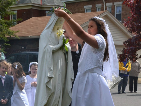 May Crowning - Sunday, May 9th