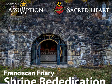 Shrine Rededication - May 1st