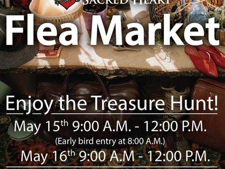 Sacred Heart Flea Market - May 15th & 16th