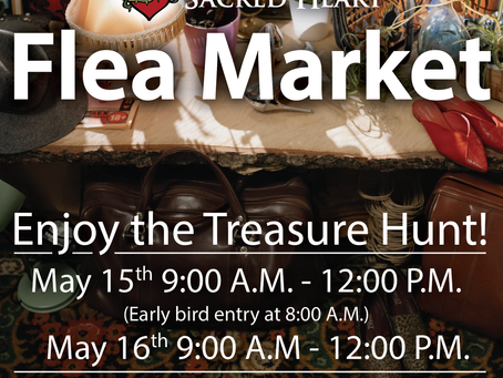 Sacred Heart Flea Market - May 15th & 16th