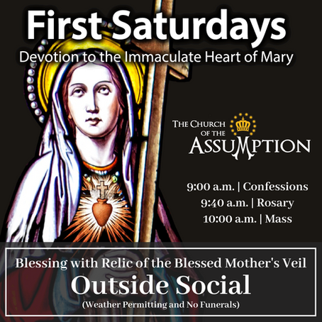The First Saturday Devotion - Beginning June 5th