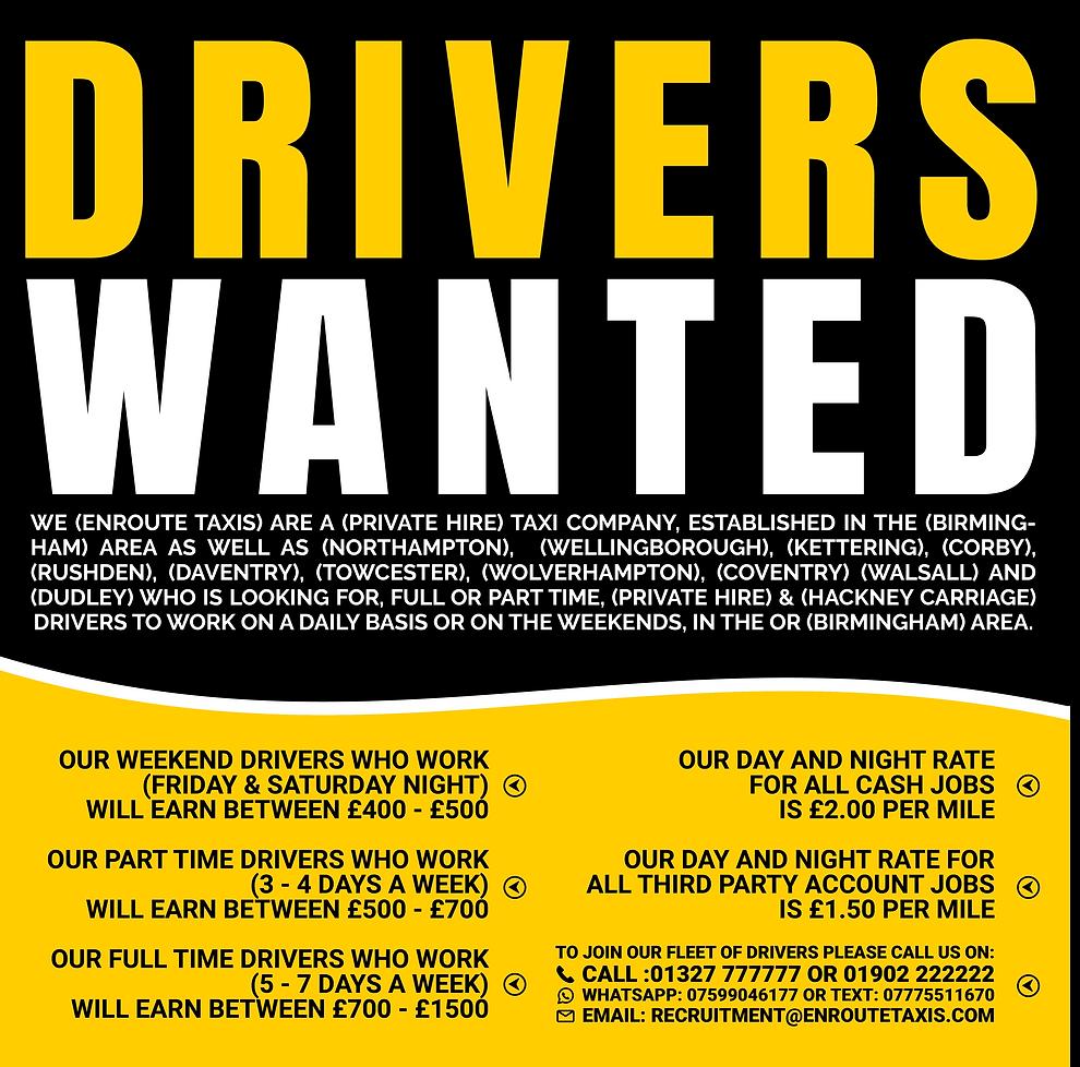 taxi driver jobs birmingham
