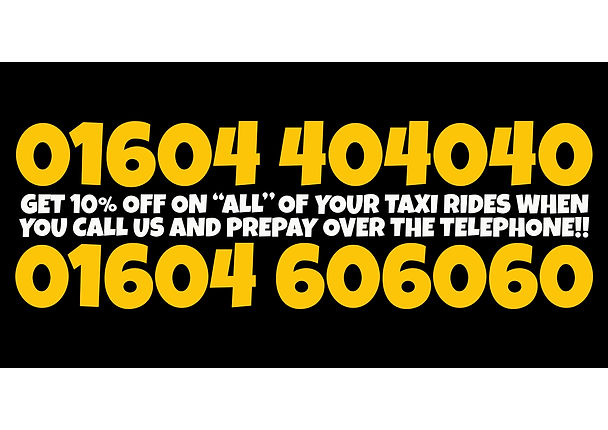 airport taxi northampton