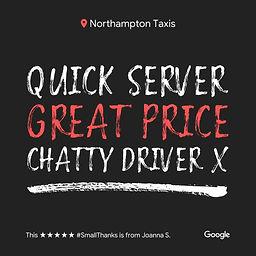 Taxi Northamton - Northampton Taxis - 01604 404040