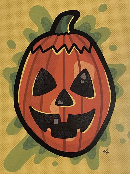 """PRINT: Nikki Stover """"Halloween III Mask"""""""