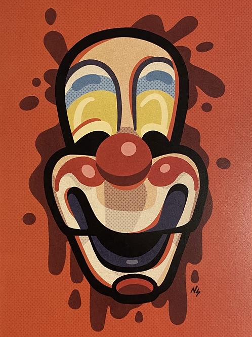"PRINT: Nikki Stover ""Michael Clown Mask"""