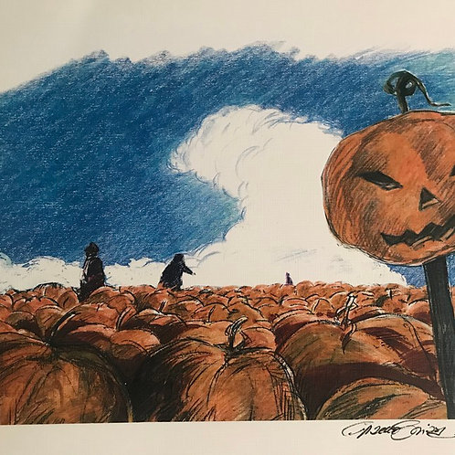 "HOCUS POCUS ""PUMPKIN PATCH"" Print"