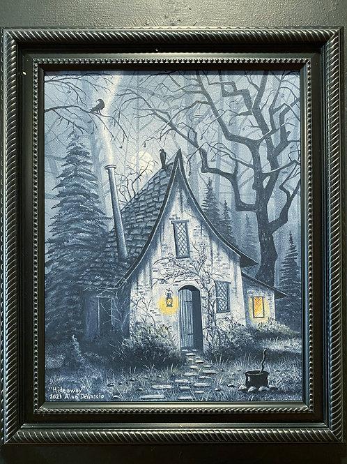 """Alan Dellascio """"Witch's Cottage"""