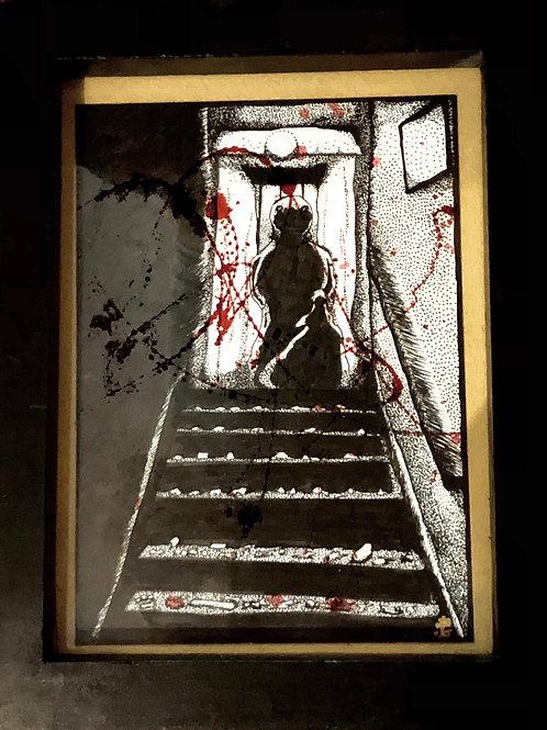 "Grace Gordon ""Sam in the Stairwell"""