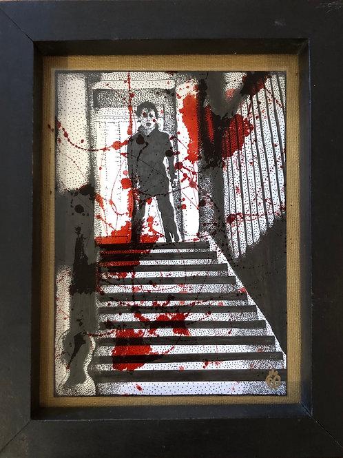 "Grace Gordon ""Michael in the Stairwell"""