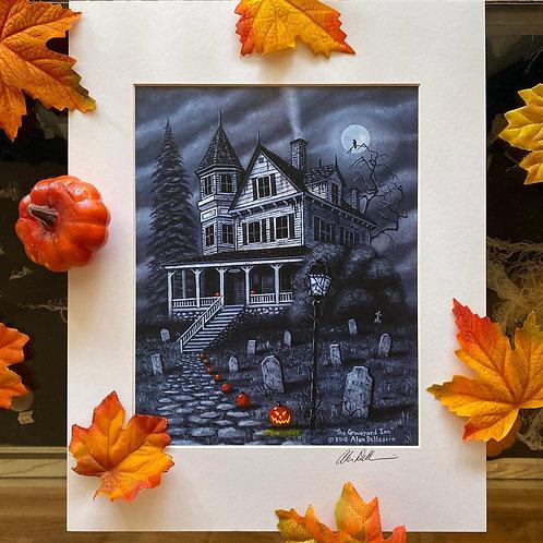 Allan Dellascio - The Graveyard Inn Print