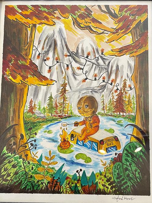 "PRINT: Winifred Kwan ""Campfire Sam"""