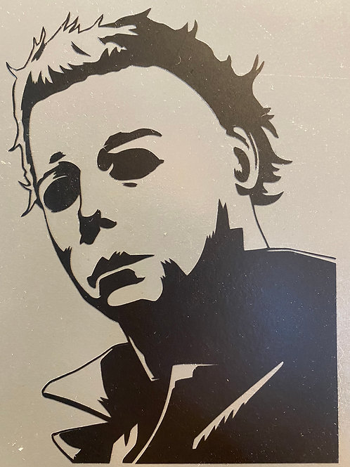 Michael Myers Decal Sticker by @shelbysstickerbox
