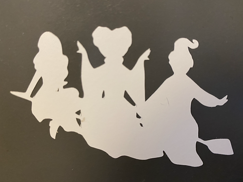 Sanderson Sisters Decal Sticker by @shelbysstickerbox