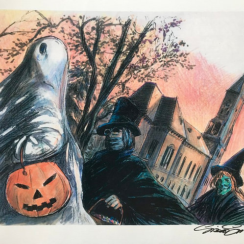 "HOCUS POCUS ""TRICK OR TREAT II"" Print"
