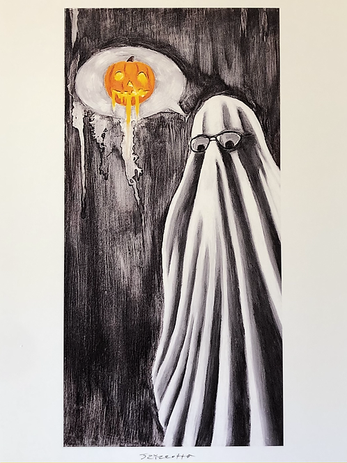 """PRINT: Joe Rizzotto """"Ghosted"""""""""""