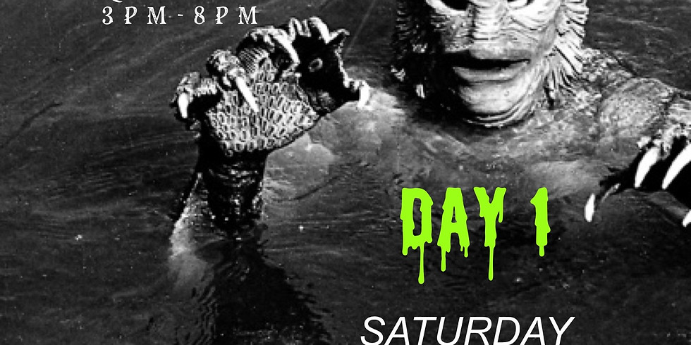 Monster PopUp Day One: 3pm-4pm time slot