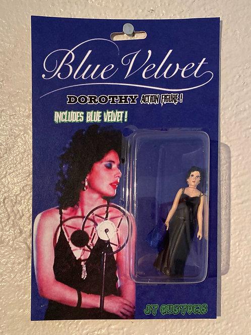 """JT Custom Toys  """"Blue Velvet Sculpture Toy"""""""