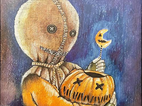 "PRINT: Allison Lee ""All Hallows Eve Fun"""