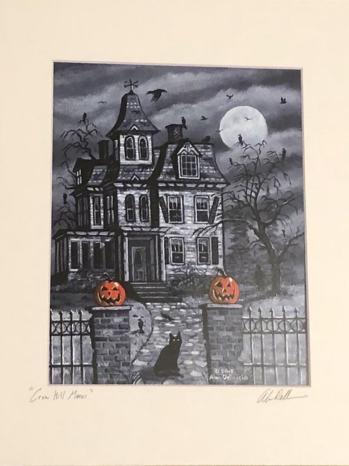 "PRINT: Alan Dellascio ""Crow Hill Manor"""