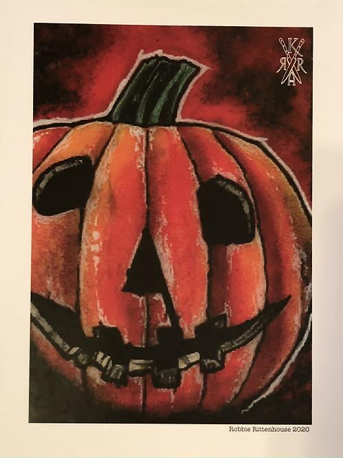 """PRINT: The Killer Art Co. """"Pumpkin"""""""