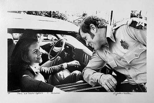 """Kim Gottlieb Walker """"Laurie & Sheriff Brackett on Halloween"""""""