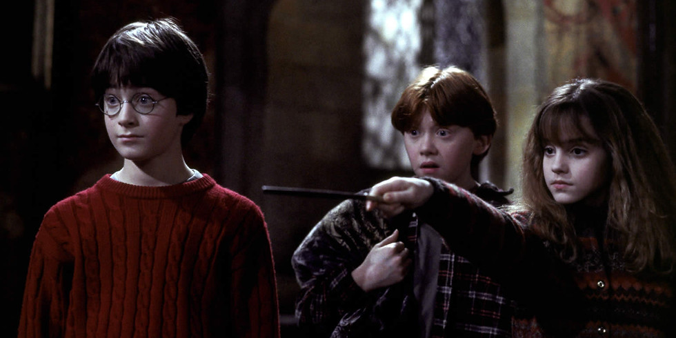 Harry Potter and the Sorcerers Stone  (purchase at the door)