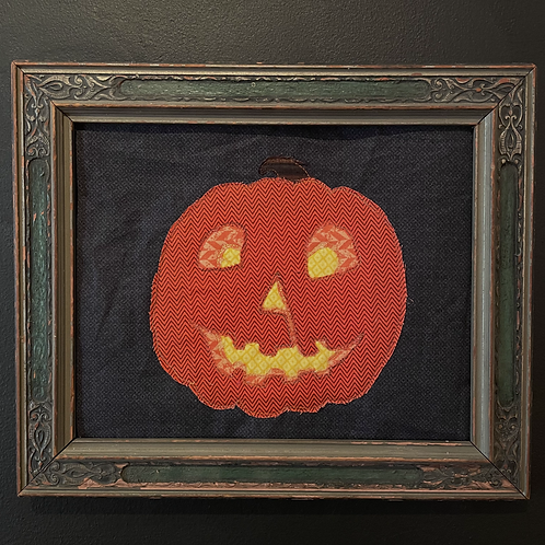 "Bonnie Robinson Stewart ""Halloween Pumpkin"""