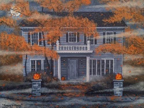 """Alan Dellascio """"Tommy's House"""" print"""