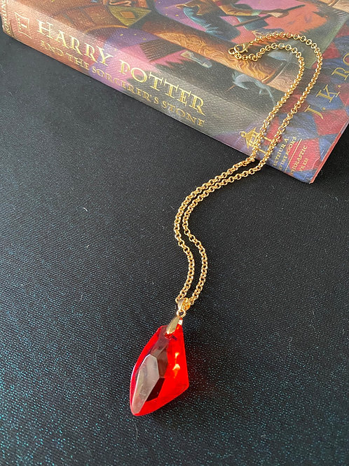 HARRY POTTER COLLECTION: Sorcerers Stone Necklace