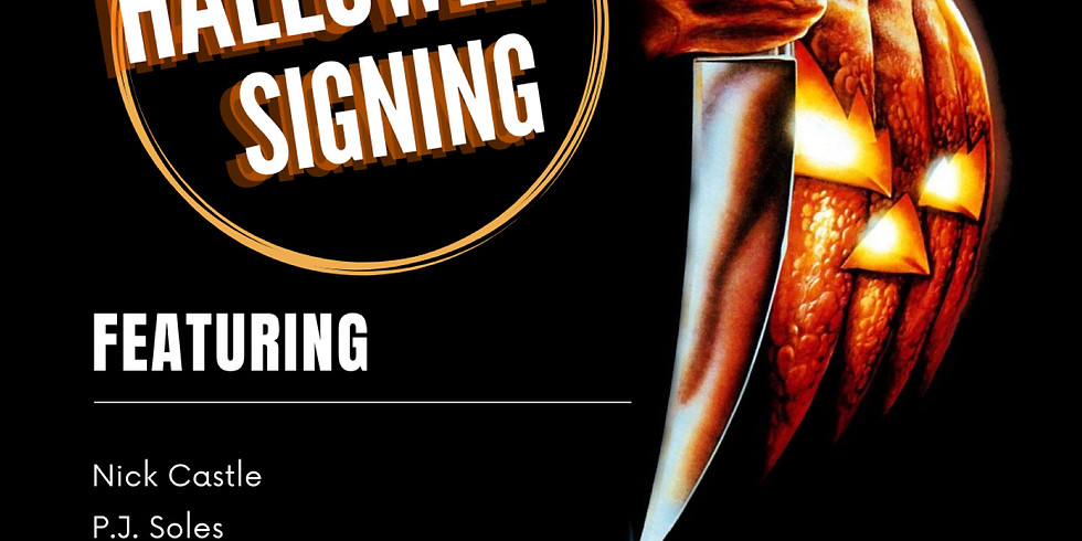 Halloween Signing