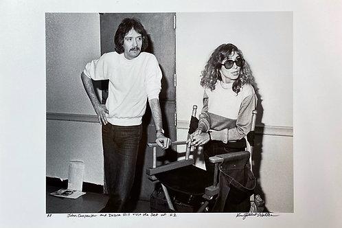 "Kim Gottlieb Walker ""John Carpenter & Debra Hill Visit the Set of H2"""