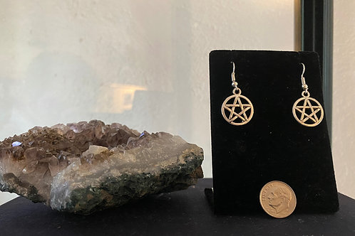 Mini Pentagram Earrings