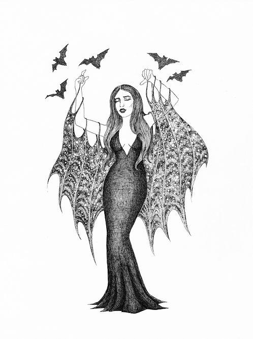 Ariella Vaystukh - Into the Night Print