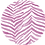 Thumbnail: Crew Neck Dress Pink Zebra