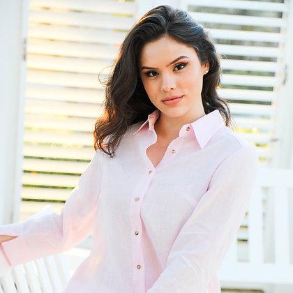 Classic Button Down Shirt Pink Blush