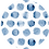 Thumbnail: Classic Button Down Shirt Blue Dots