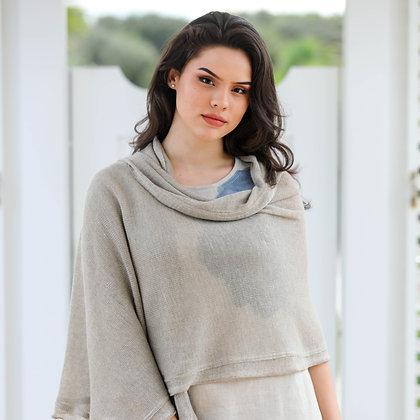 Linen Knit Shawl