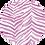 Thumbnail: Linen Lightweight Pink Zebra Shawl