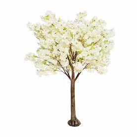 White straight blossom table tree.jpg