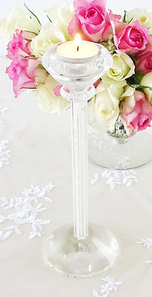 crystal beaded candle holder prop hire wedding yorkshire set the scene wedding prop hire, wedding decoration hire yorkshire, venue stylist, wedding stylist, Yorkshire