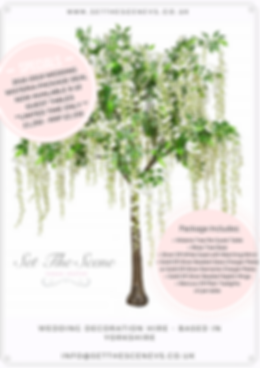 Wisteria wedding package offer deal