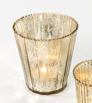 mercury gold vase